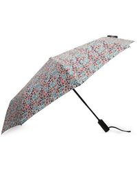 Liberty - Poppy And Daisy Print Compact Umbrella - Lyst