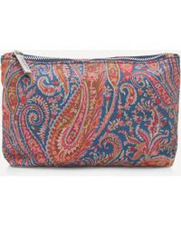 Liberty Small Felix And Isabelle Wash Bag - Multicolour