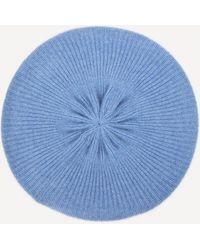 CASH CA Cashmere Beret - Blue