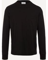 The Soloist I Think Long Sleeve Cotton T-shirt - Black
