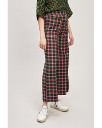 Ace & Jig Laura Gingham Trousers - Multicolour