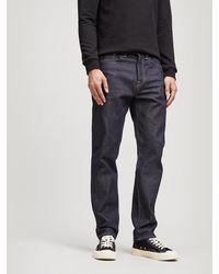 Edwin - Ed-45 Rainbow Selvedge Jeans - Lyst