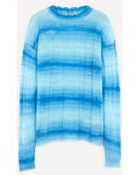 Paloma Wool Pisco Striped Crew-neck Jumper - Blue