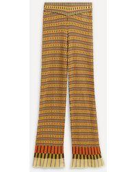 Paloma Wool Mega Multicoloured Stripe Trousers