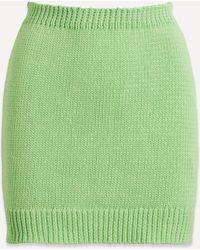 Paloma Wool Kadabra Knitted Skirt - Green