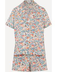 Liberty Everyday People Tana Lawntm Cotton Short Pajama Set - White