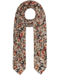 Lily and Lionel - Wild Floral Silk Scarf - Lyst
