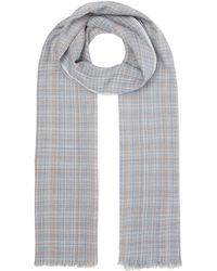 Nick Bronson - Micro Check Scarf - Lyst