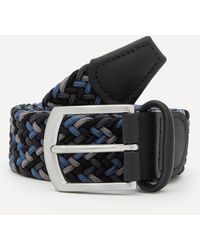 Anderson's Woven Tonal Belt - Multicolour