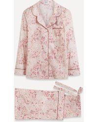 Liberty Adelajda Tana Lawntm Cotton Pyjama Set - Pink