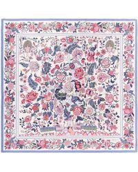 Liberty Tree Of Life 90x90 Silk Scarf - Multicolor