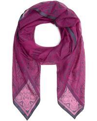 Etro Bombay Silk Scarf - Pink