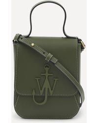 JW Anderson Top Handle Anchor Bag - Green
