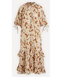 byTiMo Viscose Dobby Shirt Dress - Multicolor