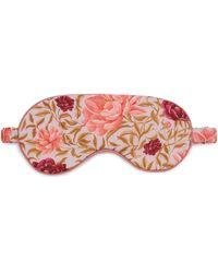 Liberty Carla Tana Lawn' Cotton Eye Mask - Pink