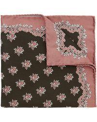 Liberty Baillie Woven Silk Pocket Square - Multicolor
