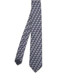 Lanvin - Bee Print Tie - Lyst
