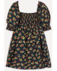 RIXO London Brenda Square-neck Mini-dress - Multicolor