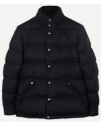 Moncler Monashee Padded Wool-down Jacket - Blue