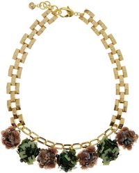 Lulu Frost | Gold-plated Rumba Sequinned Necklace | Lyst