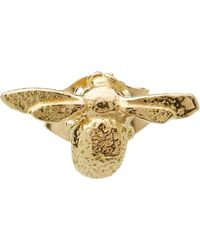 Alex Monroe - Gold Teeny Weeny Bee Single Stud Earring - Lyst