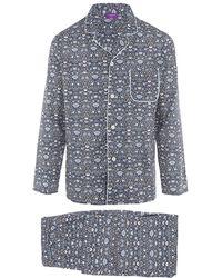 Liberty - Lodden Long Tana Lawn Cotton Pyjama Set - Lyst