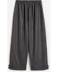 Eskandar Slim Japanese-style Pants - Multicolor