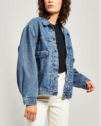Levi's Love Letter Trucker Denim Jacket - Blue