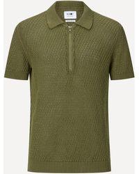 NN07 Ed 6442 Cotton Polo-shirt - Green