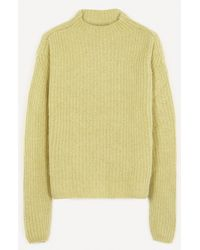 Paloma Wool Monfort Wool-blend Knit Sweater - Green