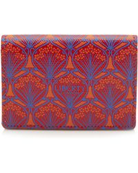 Liberty Iphis Canvas Business Card Holder - Multicolor