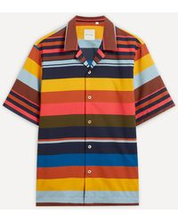 Paul Smith Striped Short-sleeve Shirt - Multicolour