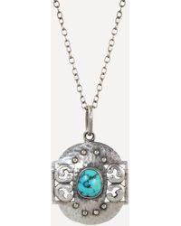 Kojis Silver Arts And Crafts Pendant - Metallic