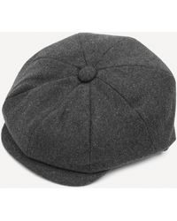 Christys' Bakerboy Cap - Grey