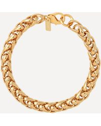 Joolz by Martha Calvo Gold-plated Dream Weaver Chain Bracelet - Metallic