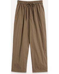 Co. Drawstring Trousers - Multicolour