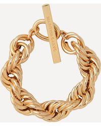 Joolz by Martha Calvo Gold-plated Amina Chain Bracelet - Metallic