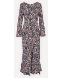 RIXO London - Mimi Low-back Maxi-dress - Lyst