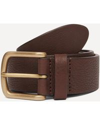 Andersons Supple Leather Belt - Brown