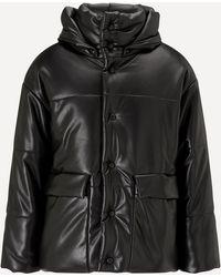 Nanushka Hide Vegan Leather Jacket - Black