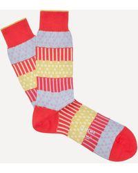 Ayamé Plant Socks - Red
