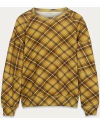 Dries Van Noten Jersey Check Sweatshirt - Multicolour