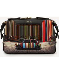 Paul Smith Mini Cooper Print Wash Bag - Multicolour
