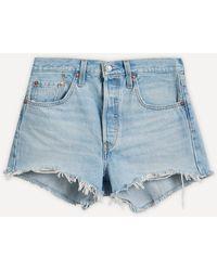 Levi's 501 Original Shorts - Blue
