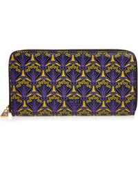 Liberty - Large Zip-around Wallet In Iphis Canvas - Lyst