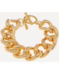 Kenneth Jay Lane Gold-plated Chunky Chain Bracelet - Metallic