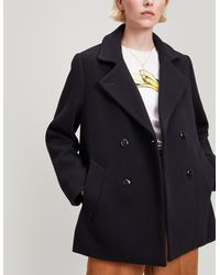 Folk - Wool And Cashmere Double-breasted Jacket - Lyst