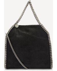 Stella McCartney Mini Falabella Faux Leather Tote Bag - Black