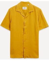 NN07 Miyagi 5029 Lyocell Blend Shirt - Yellow