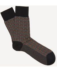 FALKE Colour Waves Cotton Socks - Black
